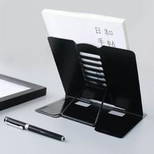 Portatile In Metallo Regolabile Libro di Lettura di Sostegno Del Supporto Documento Mensola Leggio