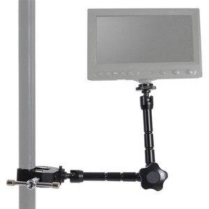 Image 5 - Jadkinsta 7 дюймов 11 дюймов Регулируемый фрикционный шарнирный Супер Зажим для SLR ЖК монитора светодиодный светильник аксессуары для камеры
