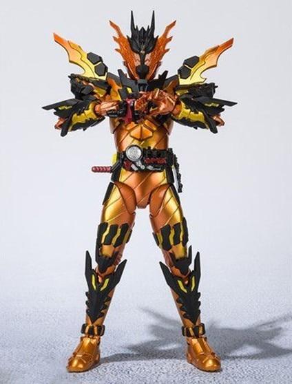 SHF Masked KAMEN Rider Cross Z MAGMA Ver. BJD Action Figure Model ToysAction & Toy Figures   -