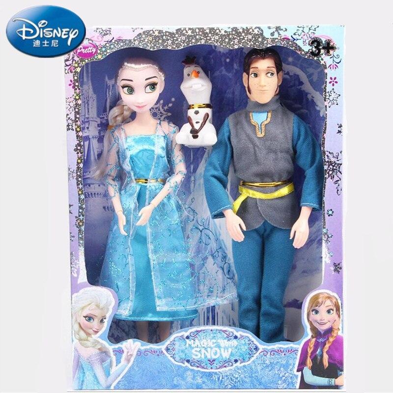 Nouveau Cadeau d/'anniversaire Playset Frozen Princess Elsa Doll Figure Jouet Cadeau 25 cm