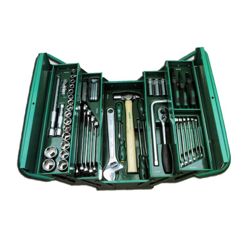 For Tool (set) 70пр. Combo (vehicle./gen.) in раскл. Met. Box. (430x200x200) 95104A-70-6 sata 04110 for tool set 19пр combo vehicle gen case