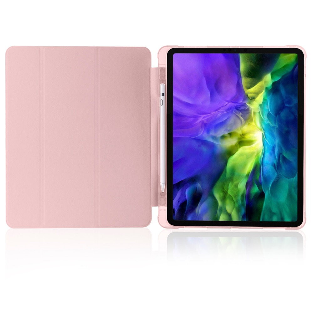 Pro 2020 Holder 2018 Soft Apple iPad Case iPad TPU 12 Cover Pencil For with 9 for Shell