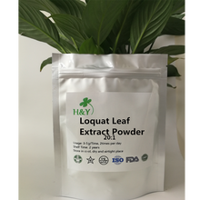 цена на 150-1000g Free Shipping Top Quality Folium Eriobotryae Loquat Leaf Extract Powder 20:1In Stock
