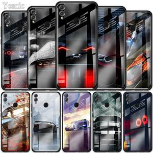 Чехол для телефона, из закаленного стекла для Huawei Honor 10X/9X/8X View/30 Pro Plus/20/10 Lite/Y6/Y7/Y9 Prime, 2019