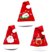 Креативные рождественские шапки Санты Снеговики лося новогодние подарки вечерние товары для дома для взрослых и детей рождественские украшения