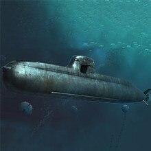 Kit de plástico submarino de ataque, modelo de barco militar para regalo, escala 1/350, tipo alemán, 212
