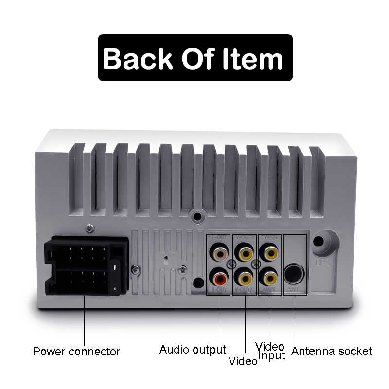 "2 DIN Mobil Radio Autoradio 7 ""HD Multimedia Player Menyentuh Layar Auto Audio Stereo Mobil MP5 Bluetooth USB TF FM Kamera Double Din"