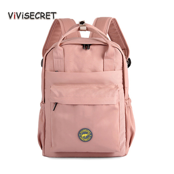 New Waterproof Nylon Kids Backpack Girls For Middle School Students Bag Travel Shoulder Backpacks Children Schoolbags Women Bags new children trolley school backpack wheels travel bags climb stair schoolbags kids trolley bookbags detachable mochila escolar