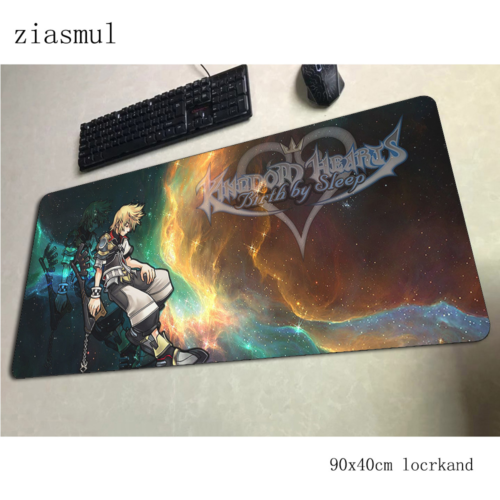 kingdom hearts <font><b>padmouse</b></font> <font><b>900x400x3mm</b></font> gaming mousepad game Gorgeous mouse pad gamer computer desk Colourful mat notbook mousemat image