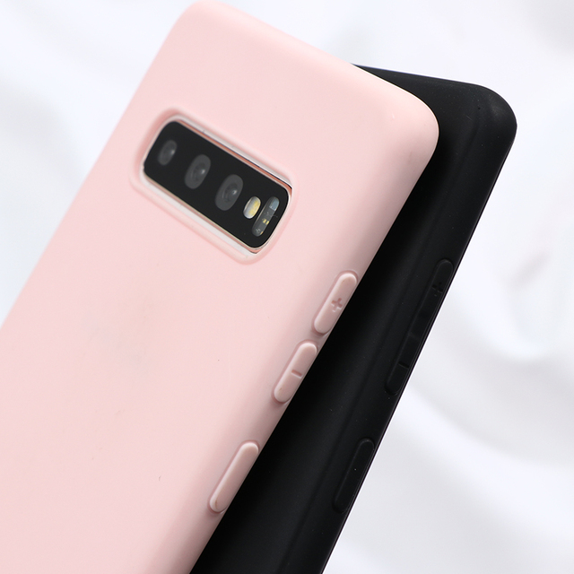 Pink Lovers Case For Samsung Galaxy A31 S20 Ultra S9 S8 S10 Plus S6 S7 Edge Note 8 9 10 Pro A71 A51 A10 A30 A40 A50 A60 A70 Case 2