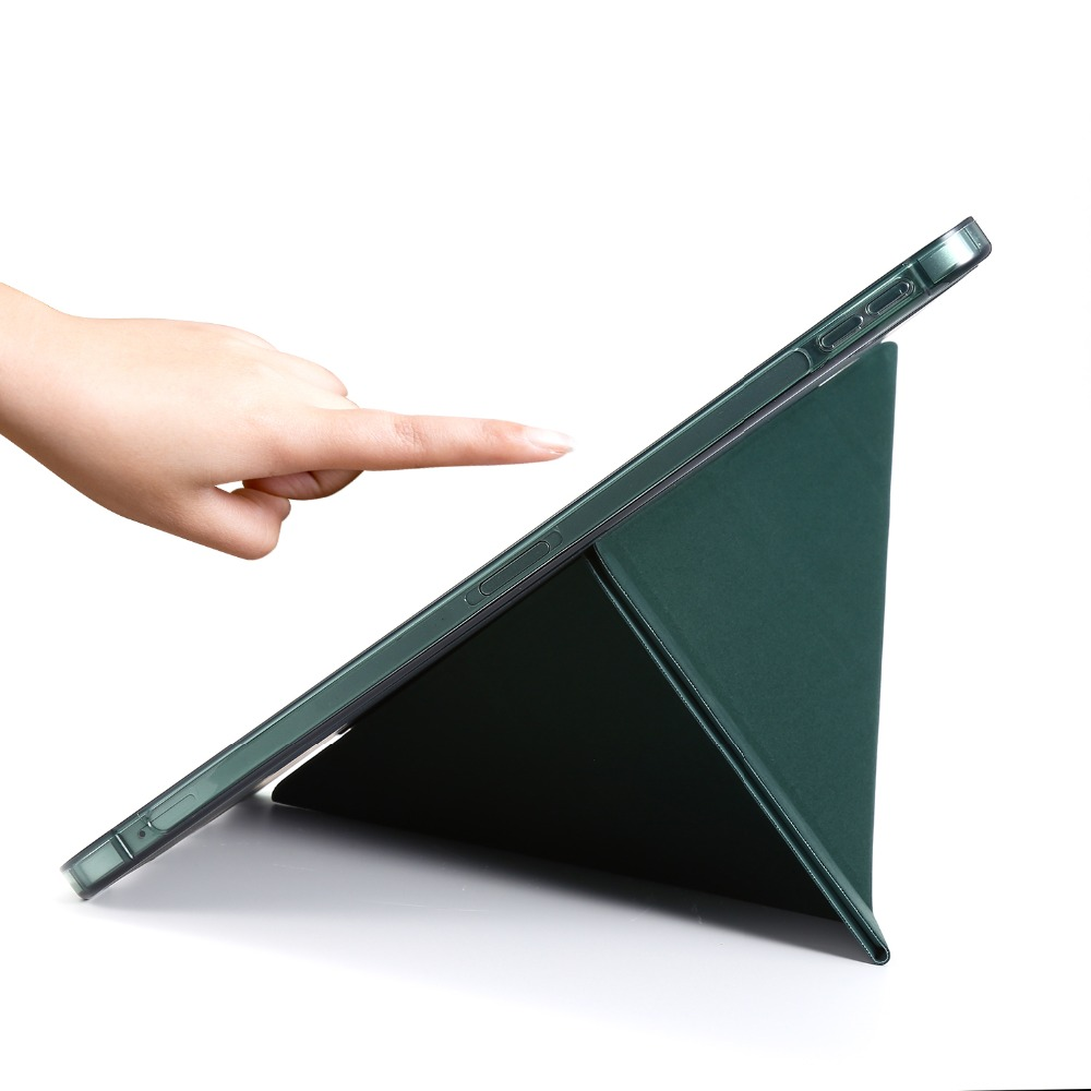 Case Pro Folding Cover For 12.9 PU iPad Tablet Case Funda Leather 2018 2020 Protective