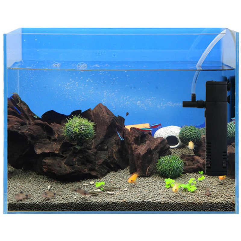 Interne Aquarium Filter Waterpomp Met Spray Bar Filtratie Duurzaam Voor Aquarium HKS99