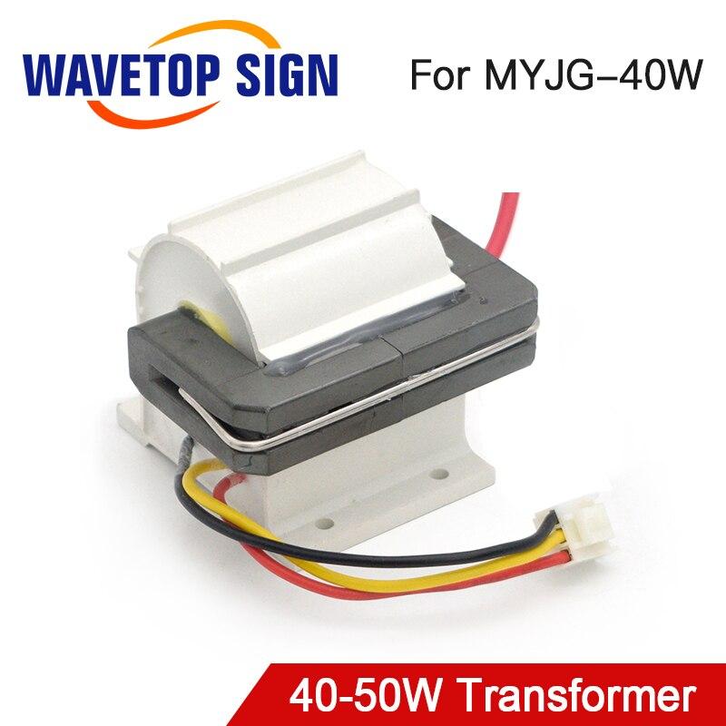 uso de alta tensao do transformador 40w 50 w de wavetopsign para a fonte de alimentacao
