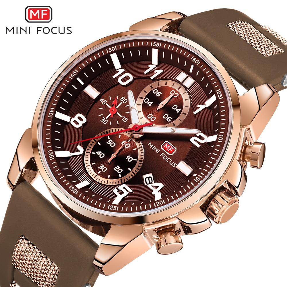 MINIFOCUS Wrist Watch Men Top Brand Luxury Famous Male Clock Quartz Watch Wristwatch Quartz watch Relogio Masculino MF0268G.03|Quartz Watches|Watches - title=