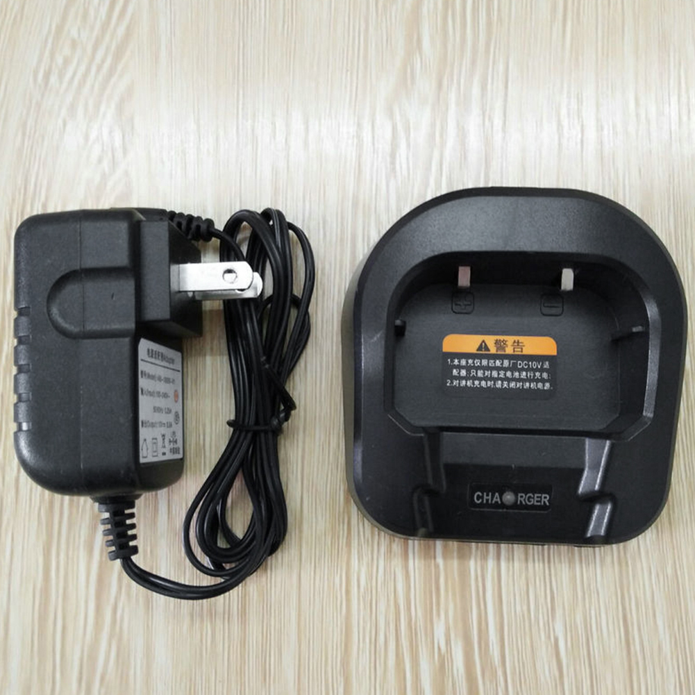 110 220V Desktop Walkie Talkie Radio Professional Battery Fast Charger With Adapter For Baofeng UV 82