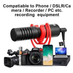 Image 3 - BOYA BY MM1 بندقية فيديو ميكروفون العالمي تسجيل ميكروفون ميكروفون ل DSLR كاميرا آيفون أندرويد الهواتف الذكية ماك اللوحي