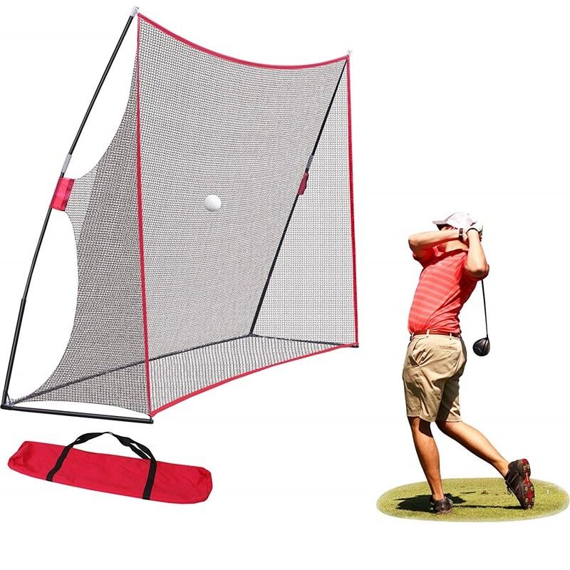 10*7*3ft Golf Hit Net Golf Cutting Rod Net Golf Swing Backstop