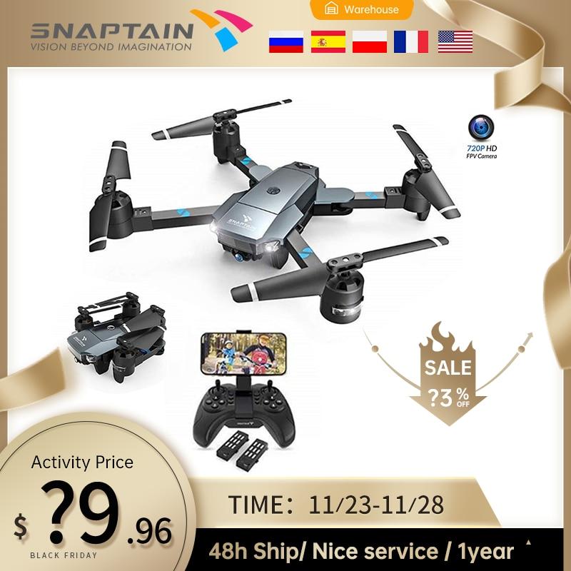 SNAPTAIN A15 720P/1080P WIFI FPV с широкоугольной HD камерой, режим удержания высоты, складной рычаг, Радиоуправляемый квадрокоптер, Дрон, рождественский подарок|Дроны с камерой| | АлиЭкспресс
