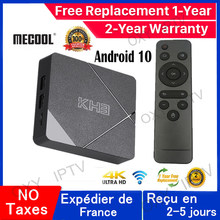 Mecool KH3 Smart iptv Box Android 10 Allwinner H313 Quad Core 2G 16G Media Player support smart tv KH3 smart ip tv set top box