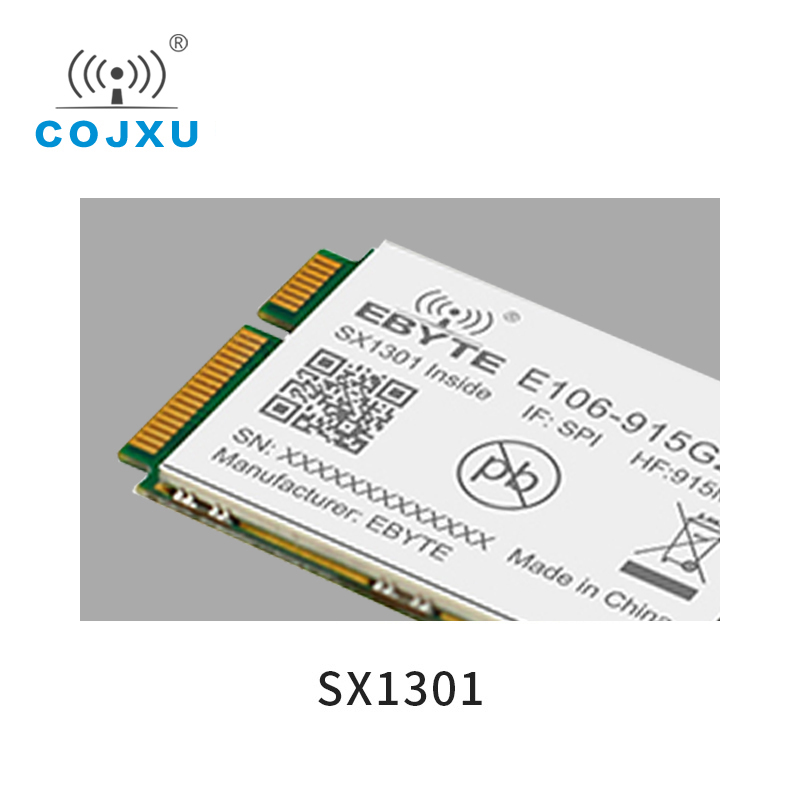 Gate Way Sx1301 LoRa  Module In Communication RF 915Mhz SPI Interface 27dBmE106-915G27P Wireless Transceiver Long Distance