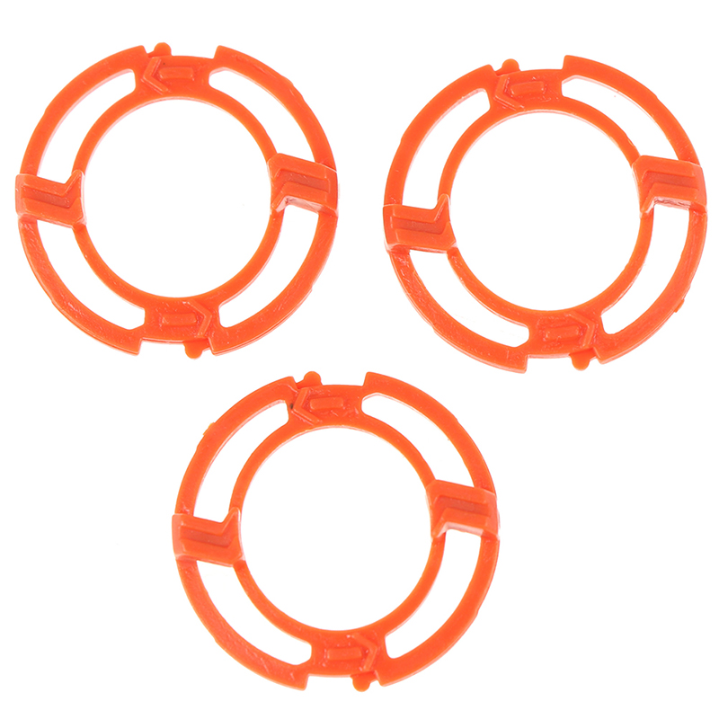 3pcs Lock-ring Retaining-Plate Holder Replacement For SH70 SH90 S9000 For RQ12 Series S9321 (9000 Series) Shaving Heads