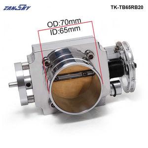 Image 3 - TANSKY   Universal High Flow Aluminium 65mm Intake Manifold Throttle Body For Nissan RB20 TK TB65RB20