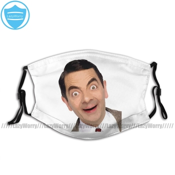 цена на Mr Bean Mouth Face Mask Hello Facial Mask for Adult Fashion Funny with Filters Mask