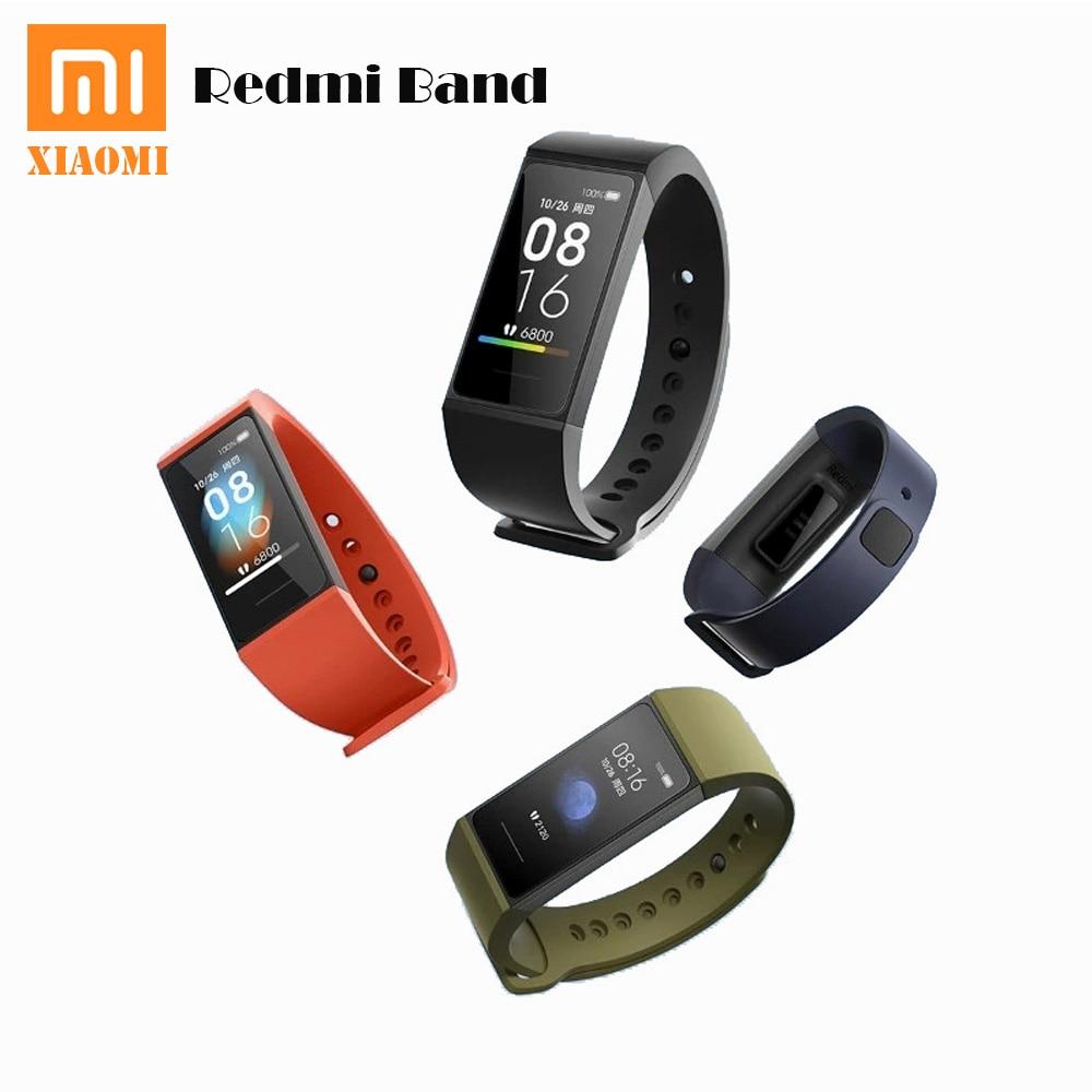 Pulseira de Fitness Sensível ao Toque Monitor de Freqüência Xiaomi Redmi Banda Inteligente Tela Cor Faixa Sono Cardíaca Miband 1.08