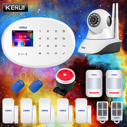 Home Security Protection Alarm KERUI W20 Equipment TFT Color Display 2.4G WIFI Wireless Network APP Control Tamper Alarm System