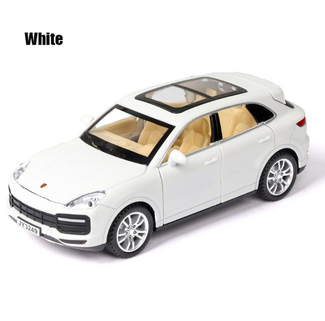 1:32 Cayenne Suv Diecasts & Toy Vehicles Metal Car Model Sound Light Collection Car Toys For Children Christmas Gift