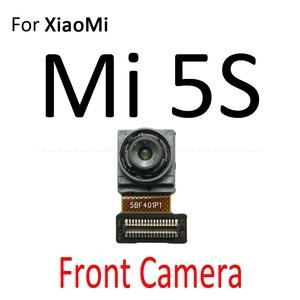 Image 5 - אחורי עיקרי חזית מול מצלמה להגמיש כבל עבור Xiaomi Mi 5S Redmi 5 בתוספת הערה 5A 5 פרו חזרה גדול קטן מודול סרט