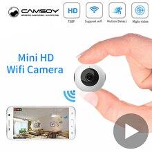 Körper Geheimnis Kleine Micro Video Mini Kamera Wifi IP Cam Nachtsicht Mit Motion Sensor HD Tiny Microcamera Miniatur Minikamera