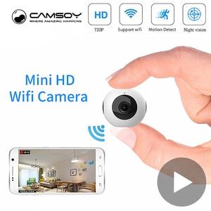 Image 1 - ボディ秘密小型マイクロビデオミニカメラ Wifi IP カムナイトビジョンモーションセンサーの Hd 小型 Microcamera ミニチュアカメラ