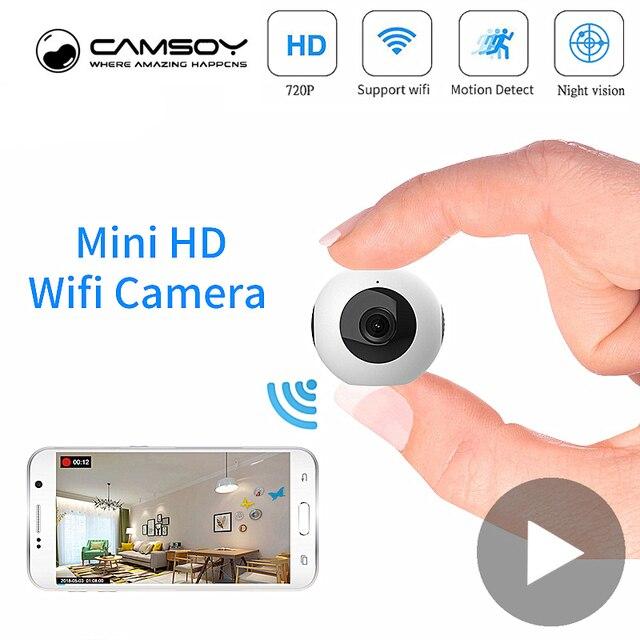 ボディ秘密小型マイクロビデオミニカメラ Wifi IP カムナイトビジョンモーションセンサーの Hd 小型 Microcamera ミニチュアカメラ