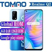"Global ROM Realme Q2 5G SmartPhone Android 10 Dimensity 800U 6.5″ 4GB 6GB RAM 128GB ROM 6.5"" 120Hz 5000mAh 48MP 30W Fast Charger"