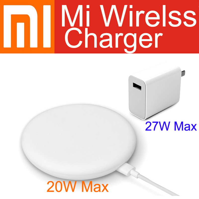 30W <font><b>27W</b></font> Plug Original Xiaomi Wireless <font><b>Charger</b></font> 20W Max 15V For Xiaomi Mi9 <font><b>Charger</b></font> S10 Plus Qi EPP10W For iPhone XS Max XR image