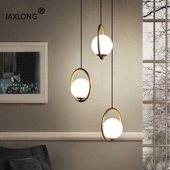 Modern LED Lighting Nordic Style Bedside Simple Pendant Lamp Coffee Shop Novelty Creative Decor Pendant Lights Loft Hanging Lamp