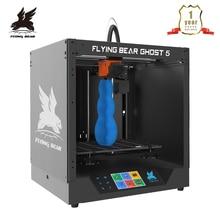 Популярный 3D принтер Flyingbear Ghost 5, набор для сборки с полностью металлической рамой и цветным сенсорным экраном, TF, доставка из России, 2020