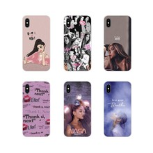 Thank U, Next Ariana Grande Accessories Phone Cases For ZTE Blade A5 2019 V6 V7 V8 Lite V9 V10 A 452 510 512 520 530 602 610 910(China)