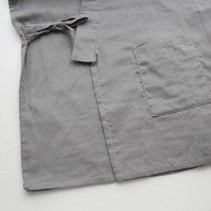 Image 3 - Qweekメンズパジャマセット綿着物スパースターhombreパジャマオムソフトホームウェア2個パジャマ和風