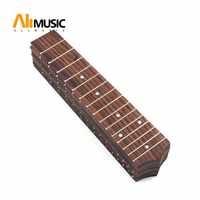 1 pcs 21 Inch Soprano Ukulele Fretboard 15 Fret Hawaii Rosewood Ukulele with 4mm Dot Fingerboard Replacement