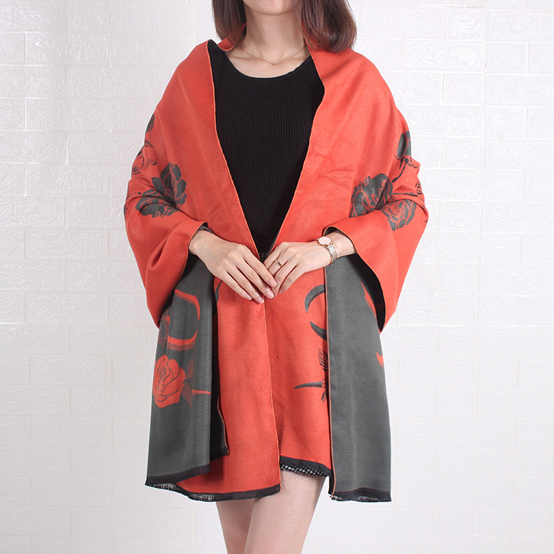 New Scarf Women Winter And Summer Dual-Use Double-Sided Cashmere Office Air-Conditioned Room Shawl Padded Cloak Bufanda Шарф