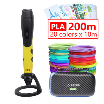 3d pen 3d pens,1.75mm ABS/PLA Filament,3 d pen 3d model,Creative 3d printing pen,new Year gift christmas presents birthday gifts 3d pen 3 d printing drawing pens with lcd screen for doodle model making arts and crafts with 100 meter 1 75mm pla filament