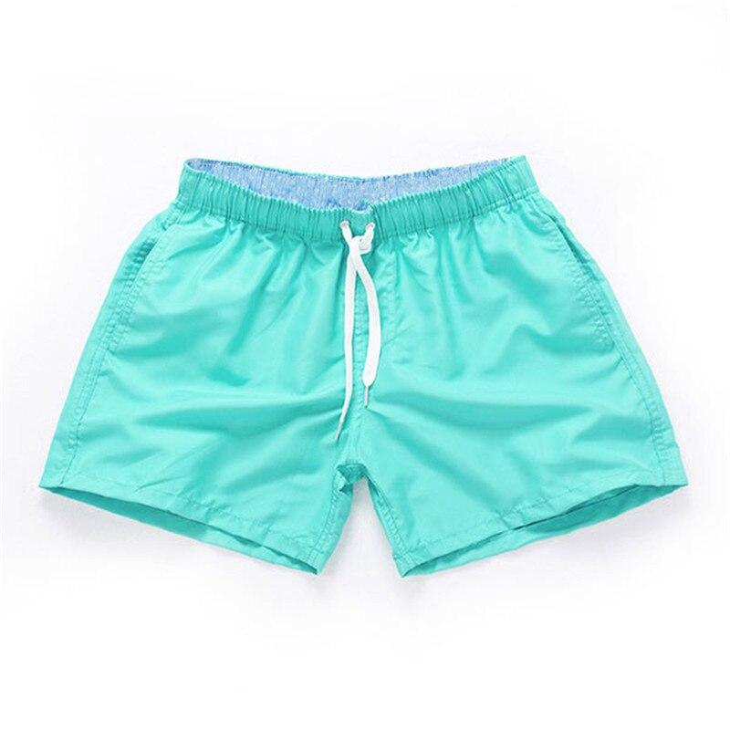 Swimming trunks men Summer Breeches board shorts Casual Bermudas Black White Boardshorts Homme Classic Clothing Beach Short Male 3