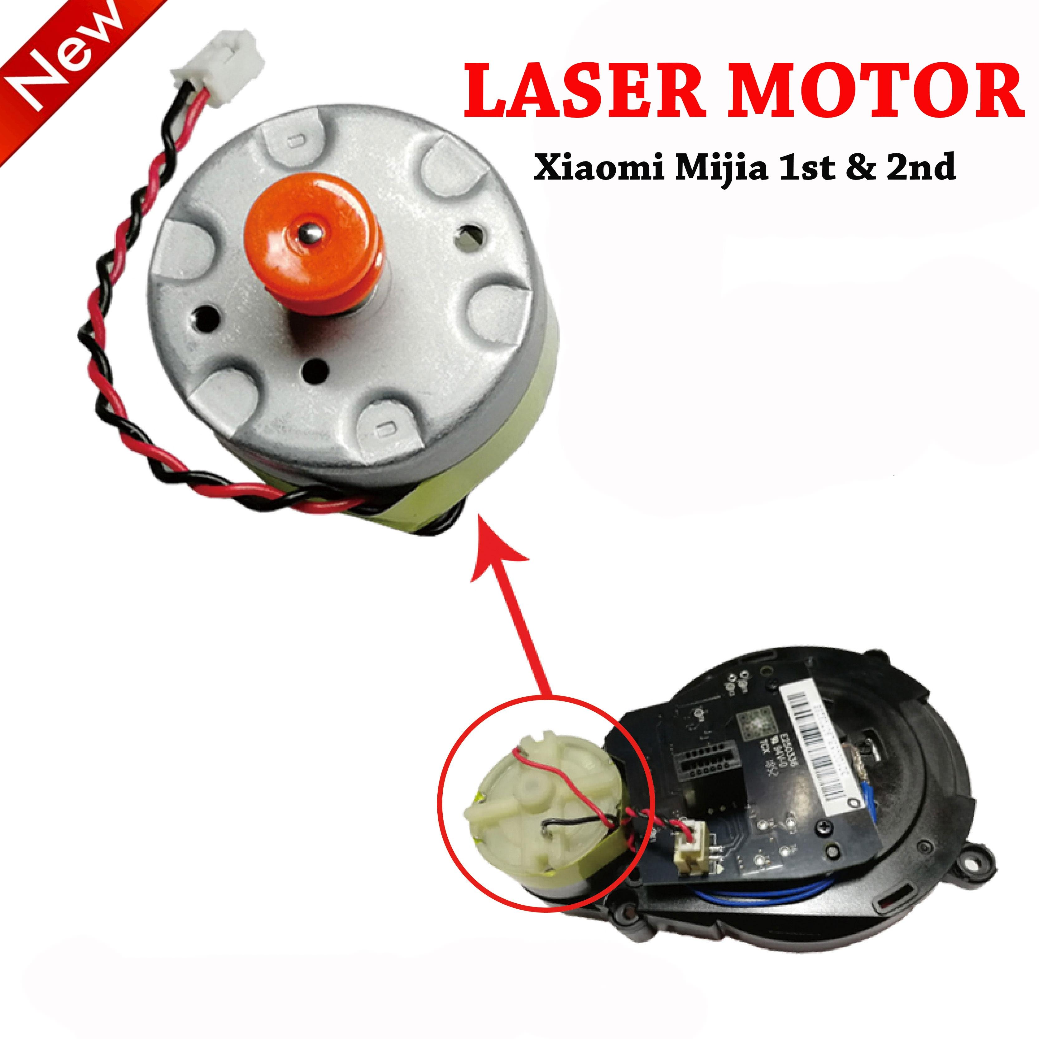 Gear Transmission Motor For Xiaomi Mijia 1st 2nd & Roborock S50 S51 S55 Robot Vacuum Cleaner Laser Sensor LDS Cleaner Motor