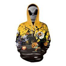 halloween hoodies printed pumpkin sweatshirt women plus size japanese pullovers gothic woman clothes harajuku vintage