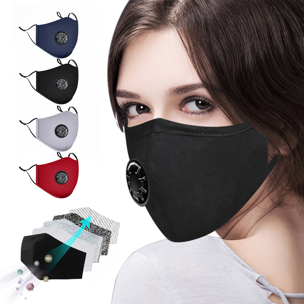2020 Respirator Breathing Valve Dust Mask PM2.5 Anti Haze Bad Smell Bacteria Mouth Masks Face Mask Infection Respirator