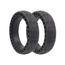 Резиновые шины передние задние шины прочные шины для Xiaomi Mijia M365 электрический скутер скейтборд Анти-взрыв шины бескамерные Твердые