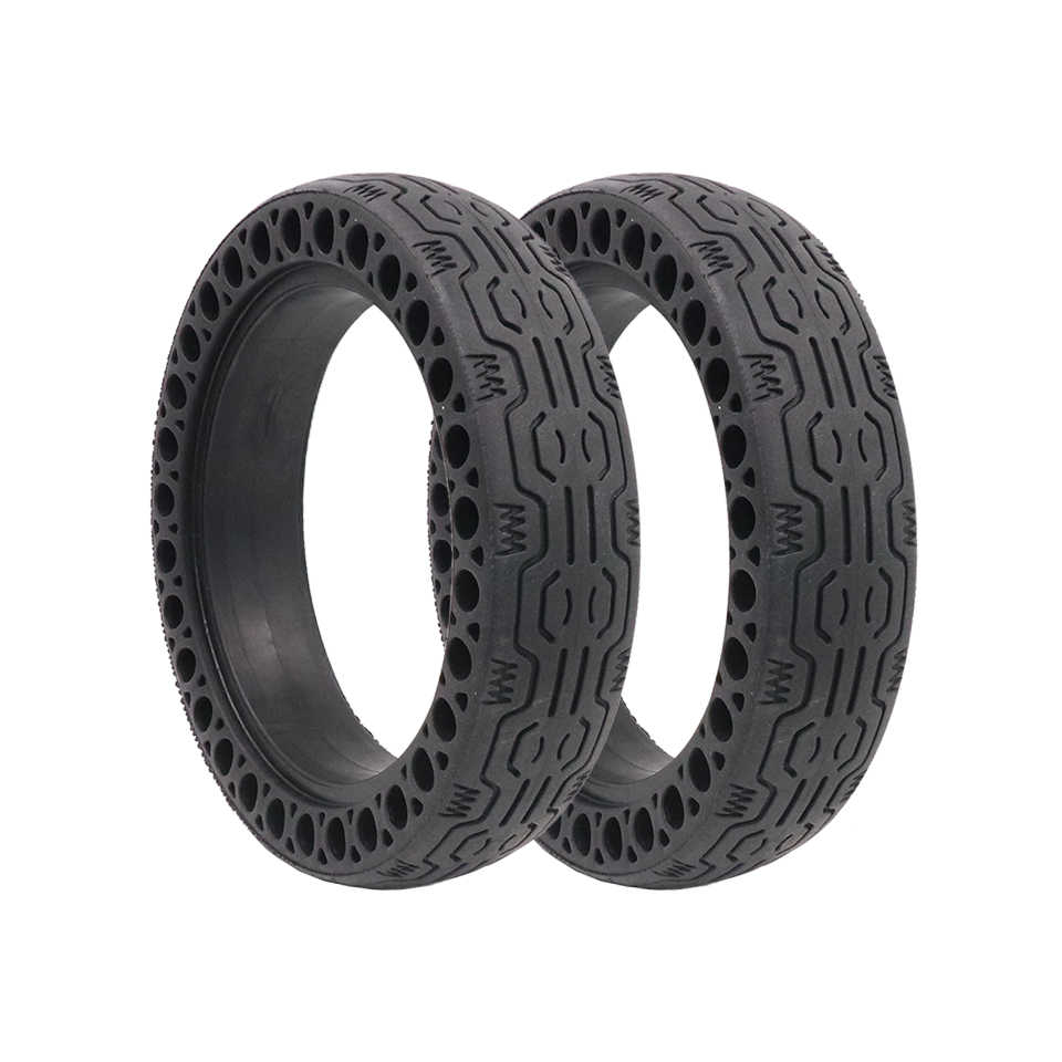 Inflation-free Anti-Explosion Solid Rubber Tyre for Xiaomi M365 Electric Scooter