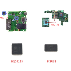 Image 2 - IC Chip motherboard Image power for N S for Switch Battery Charging Chip M92T17 M92T36 BQ24193 PI3USB Audio Video Control IC